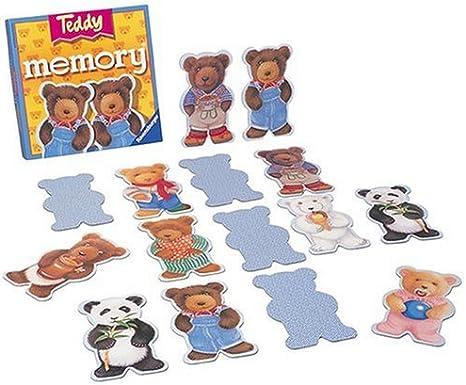 Ravensburger 216239 Memory Teddy - Juego de Mesa de Memoria: Amazon.es: Juguetes y juegos