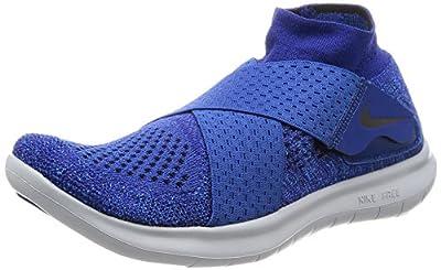Nike Free Rn Motion Fk 2017, Women's Running Shoes, Blue (Binary Blue/Black/Obsidian/Gym Blue 401), 7.5 US