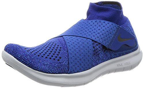 Nike Free Rn Motion Fk 2017, Women's Running Shoes, Blue (Binary Blue/Black/Obsidian/Gym Blue 401), 7 US