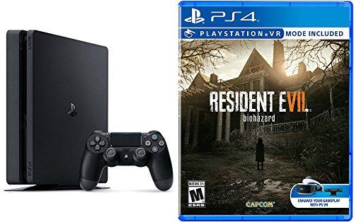 PlayStation 4 Slim 500GB Console - Resident Evil 7: Biohazard Bundle