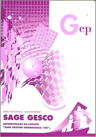 En ligne Sage Gesco : Enoncé pdf, epub ebook