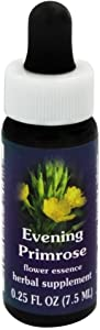 Flower Essence Services Supplement Dropper, Evening Primrose, 0.25 Ounce