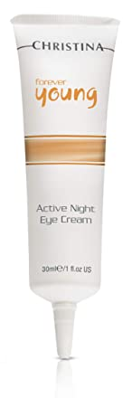 Forever Young Active Night Eye Cream – Overnight Treatment Rejuvenates Eye Contour, for Normal, Dry Sensitive Skin, 1 fl. oz 30 ml