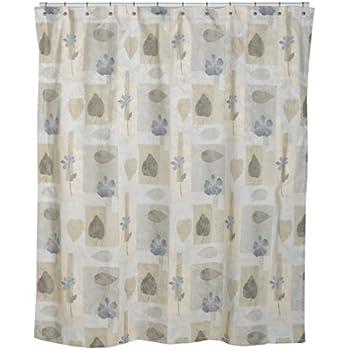 Croscill Spa Leaf Shower Curtain 70 Inch By 75 Multi