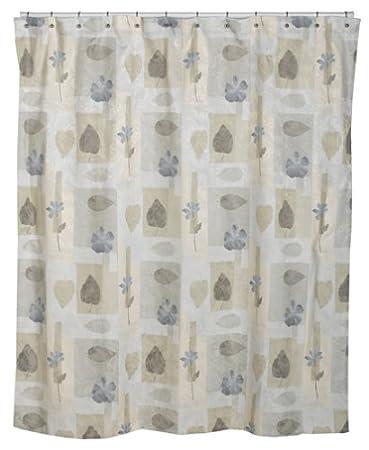 Amazon.com: Croscill Spa Leaf Shower Curtain, 70-inch by 75-inch ...