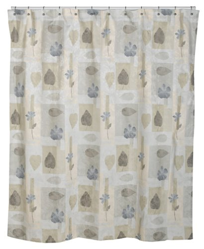 Croscill Spa Leaf Shower Curtain 70 Inch By 75 Multi