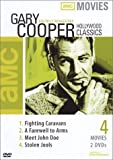 Gary Cooper Classics (Fighting Caravans, A Farewell to Arms, Meet John Doe, Stolen Jools)