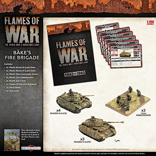 Flames of War: Mid War: German: Bake's Fire Brigade Army Box (GEAB17)