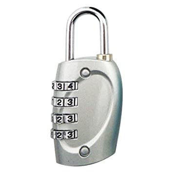 839c129cfa97 Ownsig Gym Locker Lock 4 Digit Dial Combination Suitcase Luggage ...