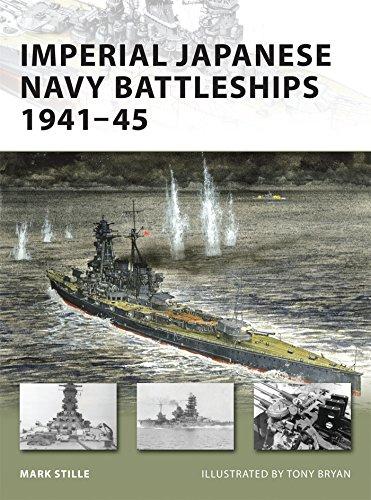 Japanese Navy Battleship - Imperial Japanese Navy Battleships 1941-45 (New Vanguard)
