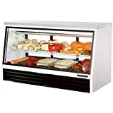 True 2-Sliding Door 1-Shelf Low-Height 25 Cu Ft Deli Case
