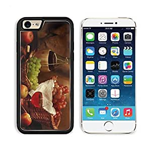 Food Food Desktop Grapes Wine Apples Apple iPhone 6 TPU Snap Cover Premium Aluminium Design Back Plate Case Customized Made to Order Support Ready Liil iPhone_6 Professional Case Touch Accessories Graphic Covers Designed Model Sleeve HD Template Wallpaper wangjiang maoyi