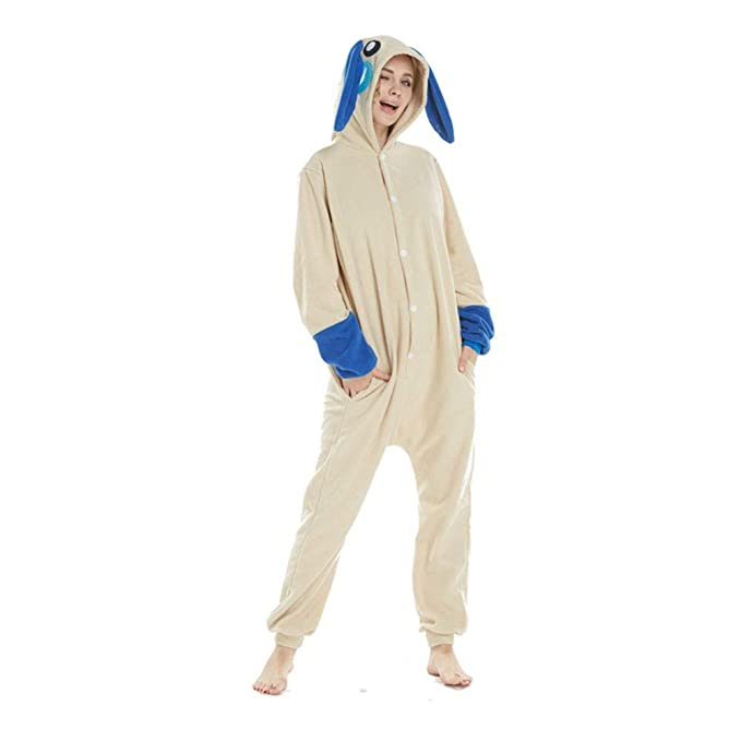 DASENLIN Pijama Cosplay con Unisex Ropa para Mujer Mono Conejo Azul De Animación De Dibujos Animados
