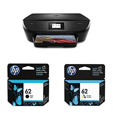 HP Envy 5540 Wireless All-in-One Color Photo Printer with Ink Bundle