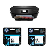 HP Envy 5540 Wireless All-in-One Photo Printer with 62 Black & Tri-Colour Ink Cartridge