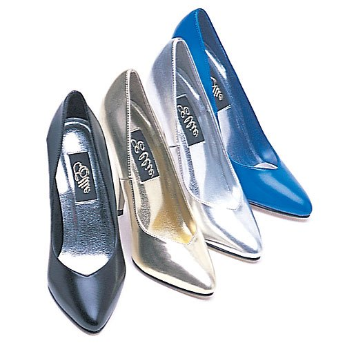 - Ellie Shoes Women's 5 inch Heel Pumps (Gold;10)
