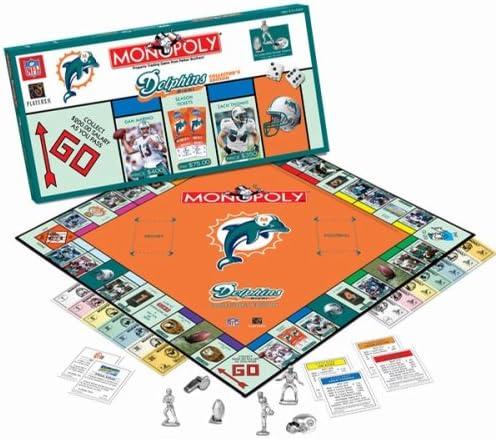 Monopoly edición de coleccionista Miami Dolphins: Amazon.es: Deportes y aire libre