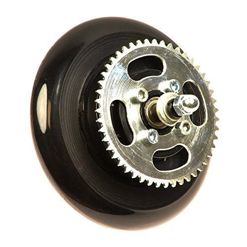 Alvey Chain Drive Rear Wheel Assembly for the Razor E100, E125, E127, E90, and (Replacement Wheel Assembly)