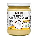 Nutiva Buttery Refined Coconut Oil, 414g