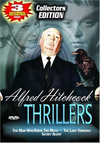 Alfred Hitchcock Thrillers - The Man Who Knew Too Much/Secret Agent/The Lady Vanishes (The Man Who Knew Too Much Dvd)