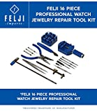16 piece watch repair kit - Felji 16 Piece Professional Watch Jewelry Repair Tool Kit
