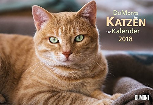 DuMonts Katzenkalender 2018 - Broschürenkalender - Wandkalender - mit Schulferienterminen - Format 42 x 29 cm: mit kurzweiligen Katzengeschichten
