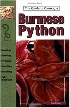 Book Burmese Pythons (Guide to Owning A...)