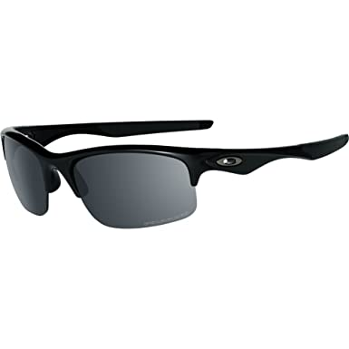 830d8eb68733 Oakley Men's OO9164 Bottle Rocket Rectangular Sunglasses, Polished Black/Black  Iridium Polarized, 62