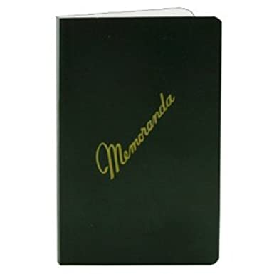 AmazonCom Memorandum Books Dark Green Cover Side Bound Nsn