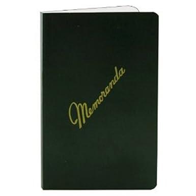 AmazonCom Memorandum Books Dark Green Cover Side Bound Nsn