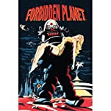 (24x36) Forbidden Planet Movie Robby the Robot Anne Francis Poster Print Poster Print, 24x36