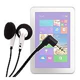 DURAGADGET Ecouteurs pratiques et confortables pour tablette Asus MeMO Pad 7, Samsung Galaxy Tab Active et Alcatel Hero 8