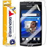(US) [3-PACK] DeltaShield BodyArmor - Sony Ericsson Xperia Arc S Screen Protector & Back Cover - Premium HD Ultra-Clear Shield w/ Lifetime Replacement - Anti-Bubble & Anti-Fingerprint Military-Grade Film