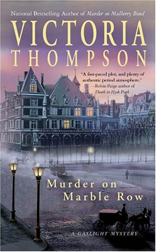 Murder on Marble Row: A Gaslight - York On Stores Avenue In 5th New City