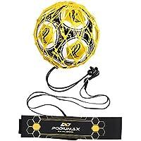 PodiuMax Solo Soccer Kick Trainer with Ball Locked Net...