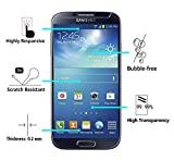 [2 Pack] iVoler [Tempered Glass] Screen Protector for Samsung Galaxy S4, [0.2mm Ultra Thin 9H Hardness 2.5D Round Edge] with Lifetime Replacement Warranty