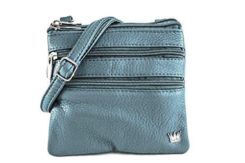 (Purse King Mini Countess Mini Bag (Slate)