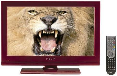 Nevir NVR-7502-19HD-N - Televisión LED, pantalla de 19 pulgadas, sintonizador DTD, Dolby digital plus, color rojo: Amazon.es: Electrónica