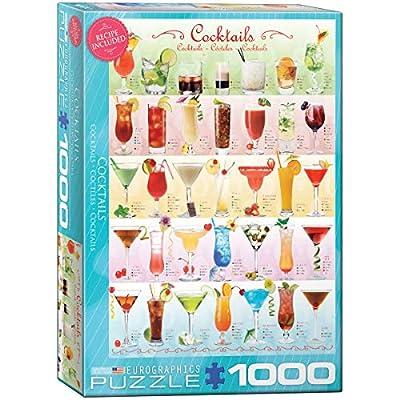Eurographics Puzzle 1000 Pz Cocktails New Eg60000588