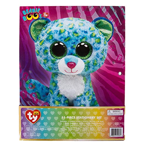 9d4a1eded4f TY Beanie Boos 11 Piece Stationary Set Folders Pencils - Import It All