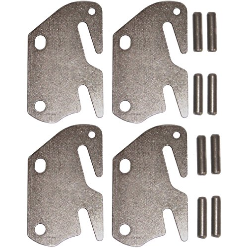 Bed Rail Hook Plates - Double Hook Fits 2