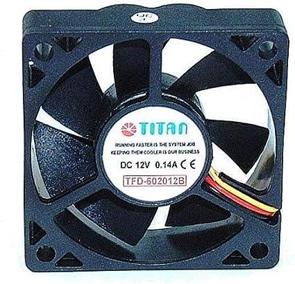 Titan TFD-6020M12B - Ventilador de PC (Carcasa del Ordenador ...