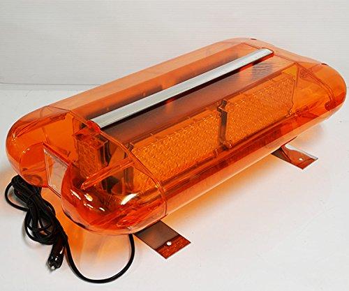 シガーソケットボルト式 大型60cm激光40W 黄色/200LED回転警告灯/(DC12V/24V選択可) 除雪車 重機 大型車 パトランプ (磁石12Vシガー40W黄色) B07BGY5H2M