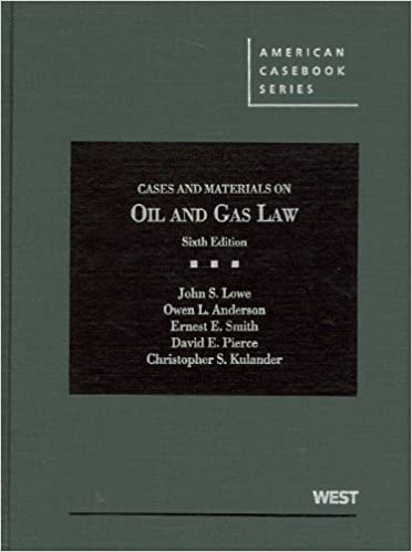 Counting Number worksheets gas law worksheets : Cases and Materials on Oil and Gas Law (American Casebook Series ...