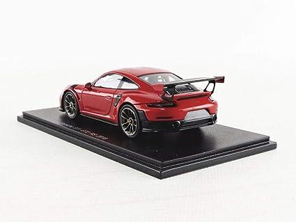 SPARK S7623 - Coche en Miniatura de colección, Color Negro y Rojo: Amazon.es: Juguetes y juegos
