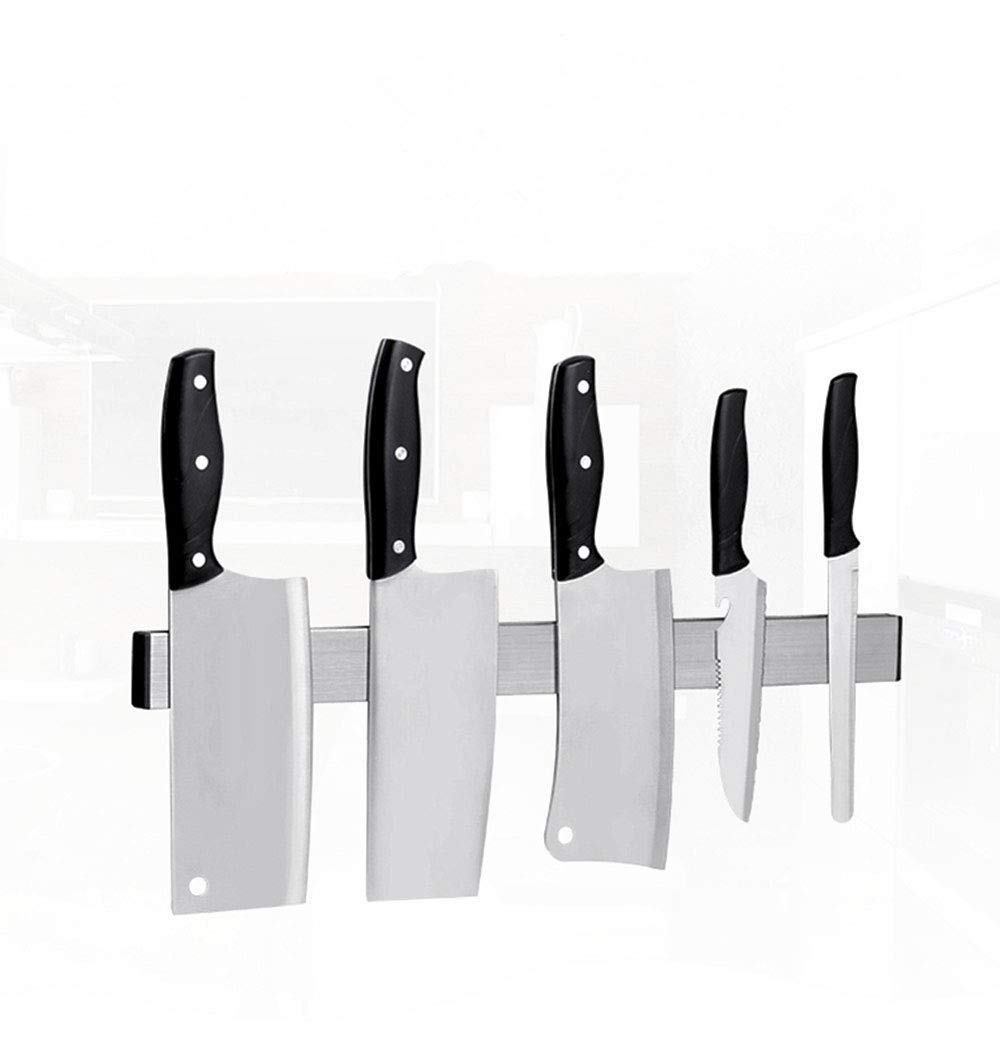 Magnetic Knives Strip - 12Inch,Magnetic Knife Holder,Magnetic Knife Rack,Metal Tools Holder Rack,Stainless Steel Powerful Magnet Mounted,Space Saver, Home and Workshops Organizer with Strong Adhesive.