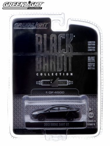 2013 Dodge Dart GT * Black Bandit Collection Series 9 * 2013 Greenlight Collectibles 1:64 Scale Vehicle Die-Cast (Limited Edition / 1 of only 4,500 Pieces) by BLACK BANDIT