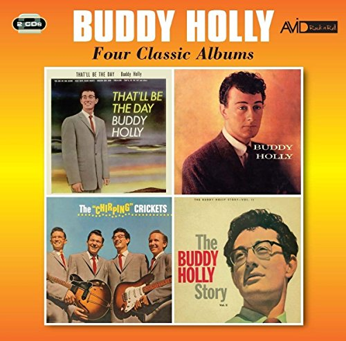 4 Classic Albums (Box Buddy Holly Set)