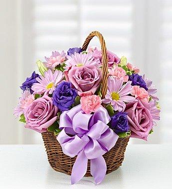 Basket of Blooms for Mom Grenville Station