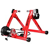 Deuter Bike Trainer Stationary Magnetic Exercise Bicycle Stand for Indoor...